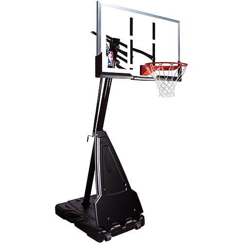 "Spalding 68564 54"" Acrylic Portable Basketball System"