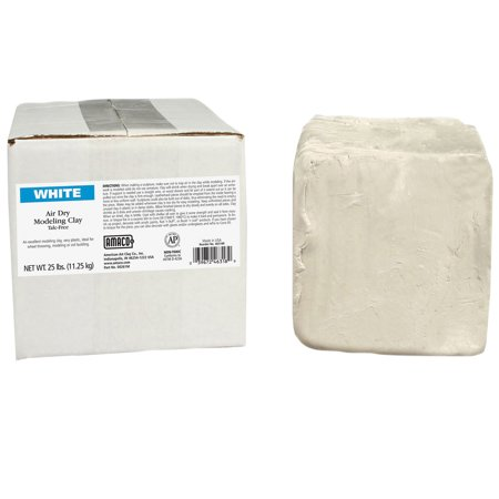 Hydroton Clay Pellets - AMACO® Air Dry Clay, White, 25 lb.