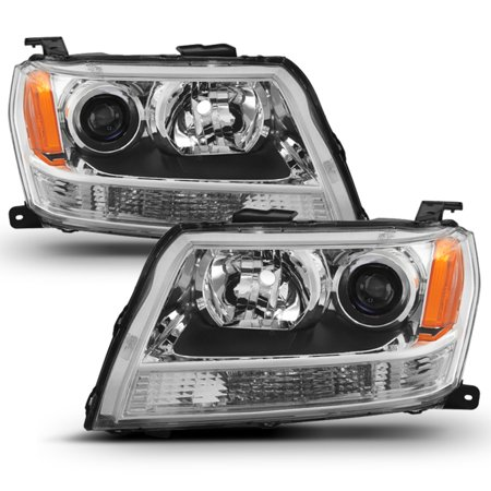 Fit 2006 2007 2008 Suzuki Grand Vitara Projector Headlights Lamps (Suzuki Vitara Jeep)
