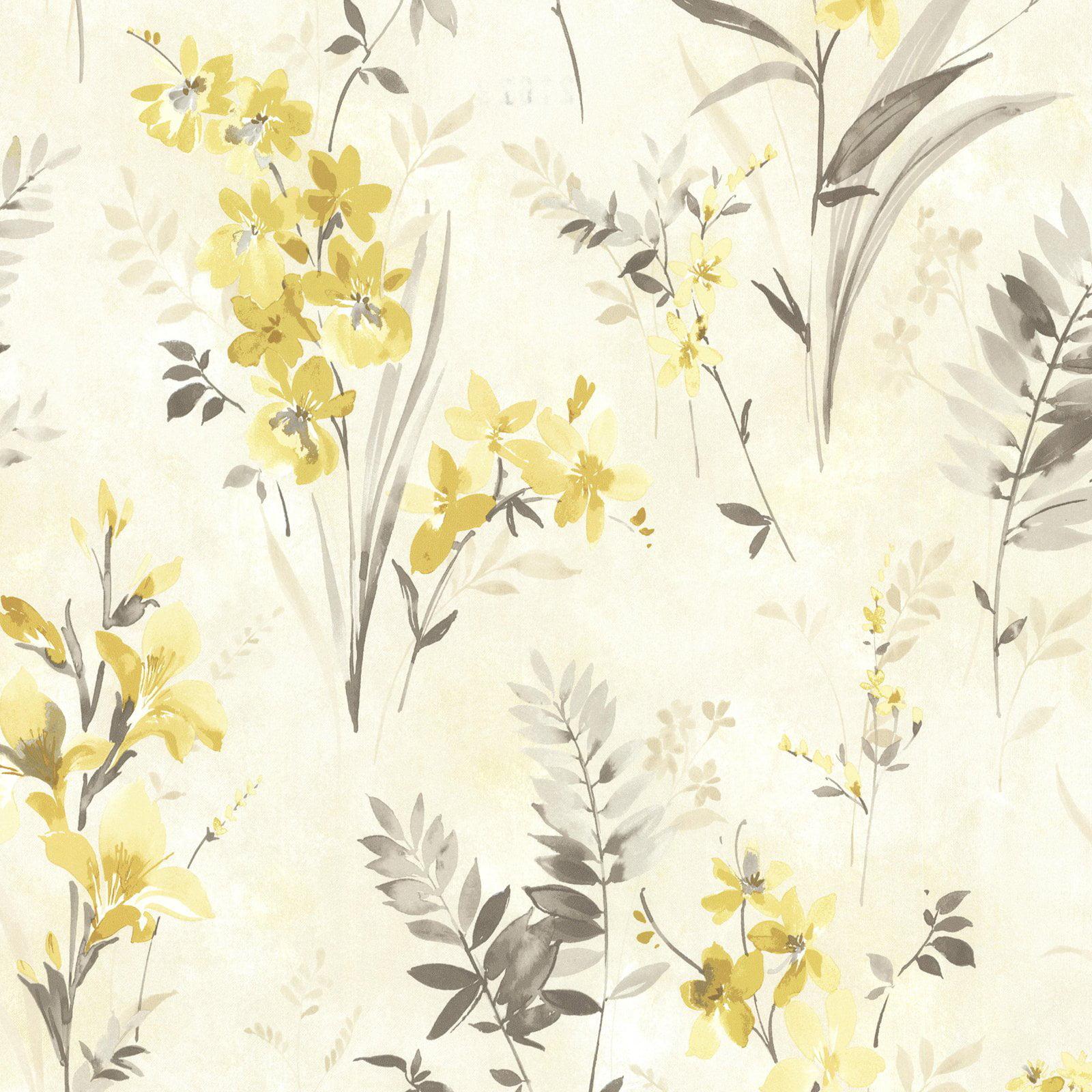 Beacon House Henrietta Watercolor Floral Wallpaper