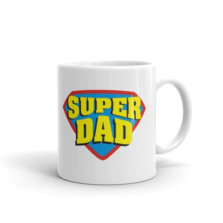 Super Dad Father's Day Gifts Coffee Tea Ceramic Mug Office Work Cup Gift 11 oz