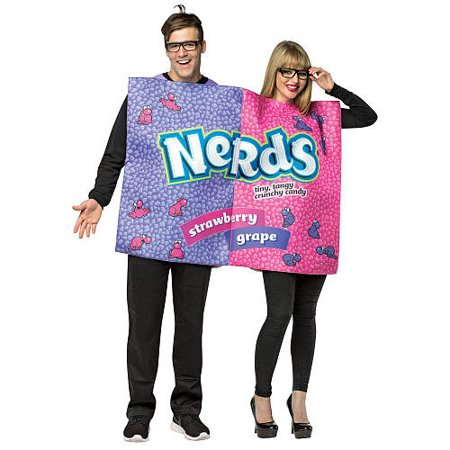 Ideas For Nerd Halloween Costumes (NERDS BOX COUPLES COSTUME)