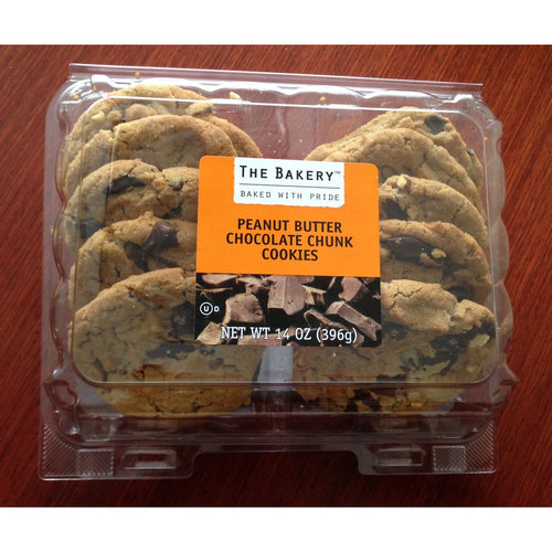 The Bakery Peanut Butter Chocolate Chunk Cookies, 14 oz