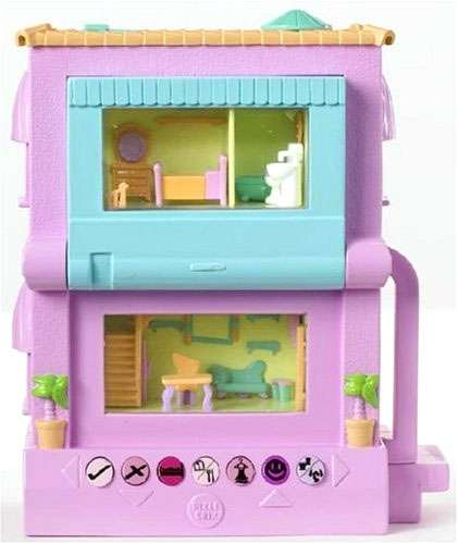 Pixel Chix Virtual World Game 2 Story House Electronic Toy ...