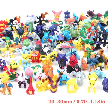 144PCS a Set Pokemon Toy Mini Action Figures Children's Doll Go Monster Toys Gift - image 5 of 6
