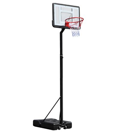 Ktaxon 6.9ft -10ft Height Adjustable Portable Basketball Hoop System, Grow-to-Pro Basketball Stand Net Goal, with Wheels, for Youth Junior Indoor/Outdoor
