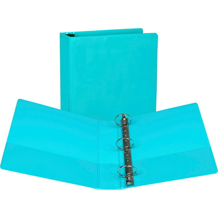 Samsill, SAMU86677, Fashion Color Round Ring Presentation View Binders, 2 / Pack,