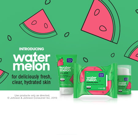 NEW Clean & Clear Watermelon