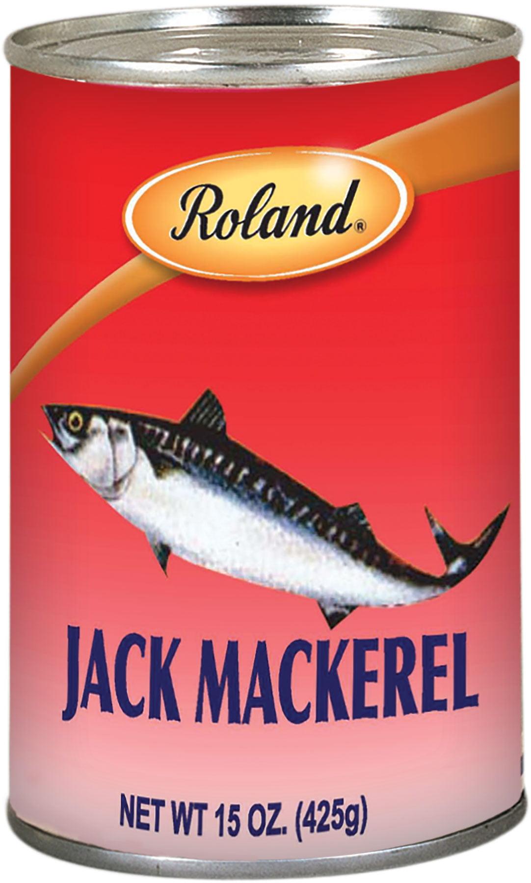 Roland Mackerel In Water, 15 Oz by Roland Corporation