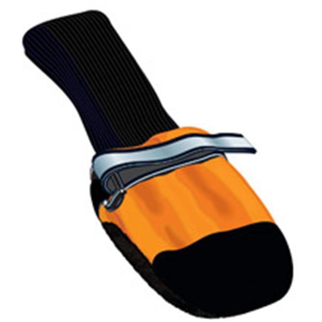 Muttluks FLSO Fleece Lined Dog Boots - Small, Orange