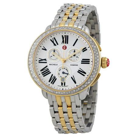 Serein Diamond Two Tone Gold, Two Tone Bracelet Watch