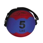 Red 5-pound FitBALL MiniMed Ball - Pilates, Exercise & More