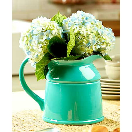 The Lakeside Collection Ceramic Country Crock Vases Teal ()