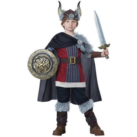 Viking Boy Child Halloween - Viking Lady Costume