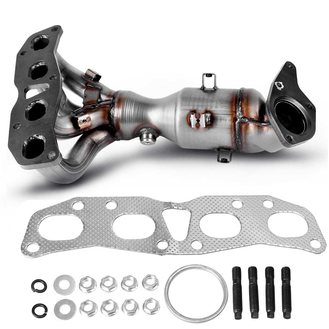 New Exhaust Manifold For 2007-2013 Nissan Altima 2.5L With Catalytic Converter
