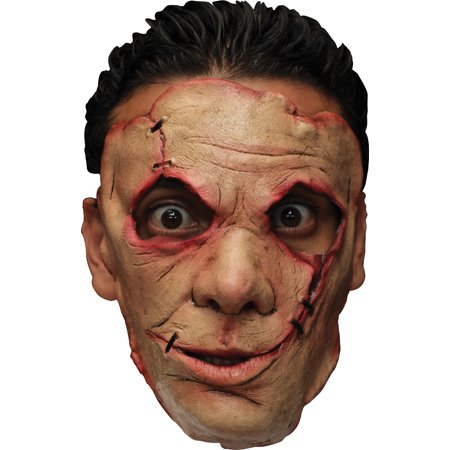 Serial Killer 29 Latex Face Adult Halloween - 29 Days Until Halloween