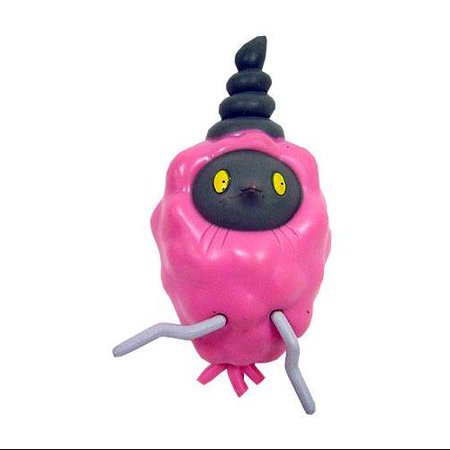 Pokemon Diamond & Pearl Pink Burmy Figure [Loose]