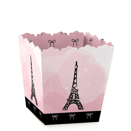 Paris, Ooh La La - Paris Themed - Party Mini Favor Boxes - Baby Shower or Birthday Party Treat Candy Boxes - Set of - Baby Showers Themes