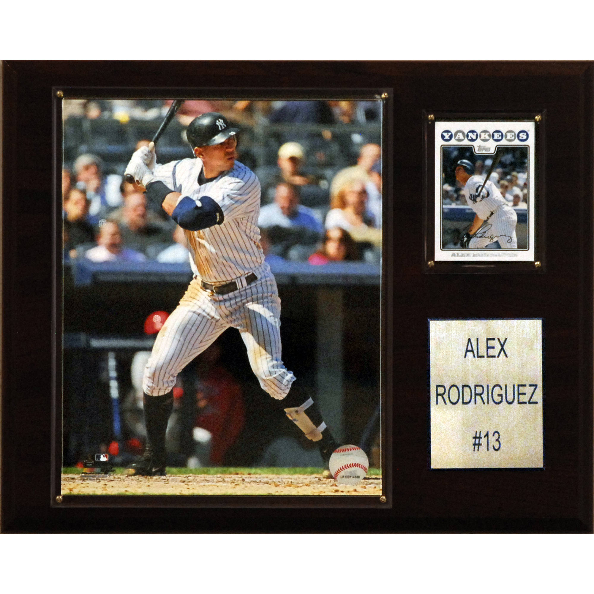 C&I Collectables MLB 12x15 Alex Rodriguez New York Yankees Player Plaque