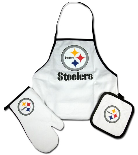 Pittsburgh Steelers Grilling Apron Set