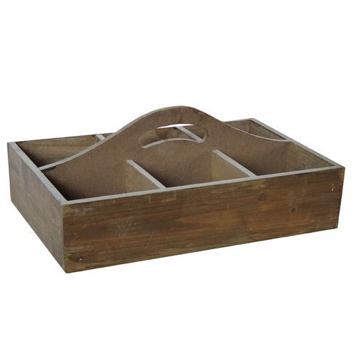 Cheungs 6 Slot Wood Crate