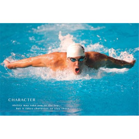 Michael Phelps Quote Poster Print, 24 x 36