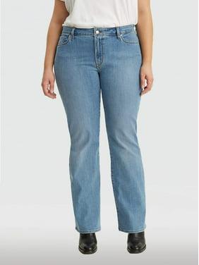 Levi's Women's Plus Size Classic Mid Rise Bootcut Jean