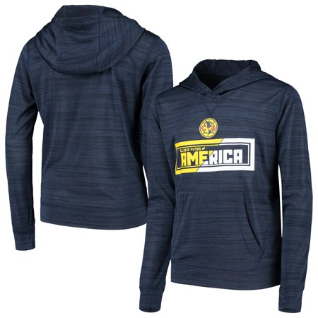 Club America Levelwear Youth Anchor Pullover Hoodie - Heathered Navy