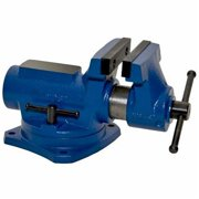 """Yost RIA-4 4"""" Compact Bench Vise with 360-Degree Swivel Base"""