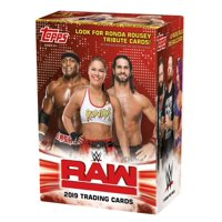 2019 Topps WWE Raw Value Box- Featuring Ronda Rousey Tribute Cards