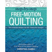 Stash Books Step-By-Step Free-Motion Quilting