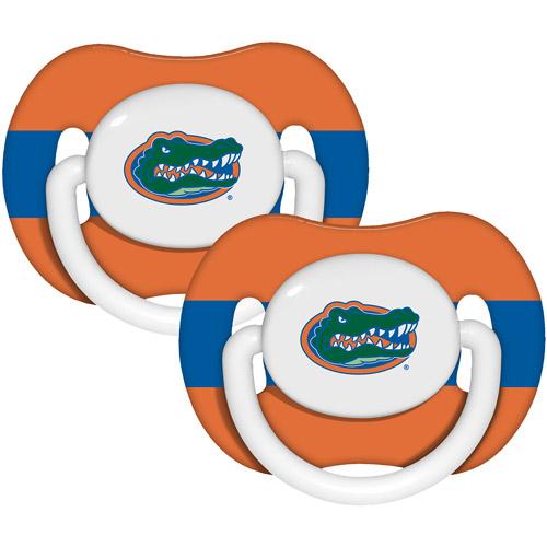Baby Fanatic NCAA 2-Pack Baby Pacifiers, Florida Gators
