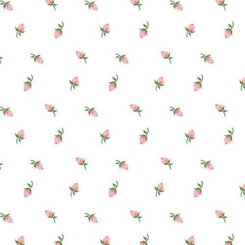 Springs Creative Ballad Fabric, Rosebud, 44""