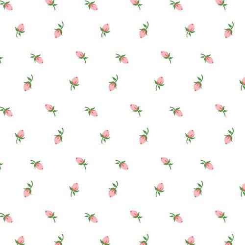 "Springs Creative Ballad Fabric, Rosebud, 44"""
