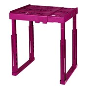 Tools for School Locker Shelf, Adjustable in Height and Width, Pink