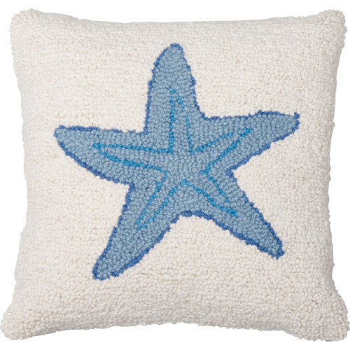 Amity Home Starfish Wool Throw Pillow