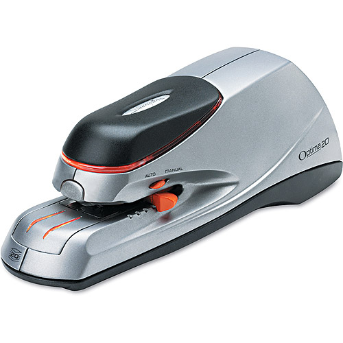 Swingline Optima Electric Stapler, 20 Sheet Capacity, Silver