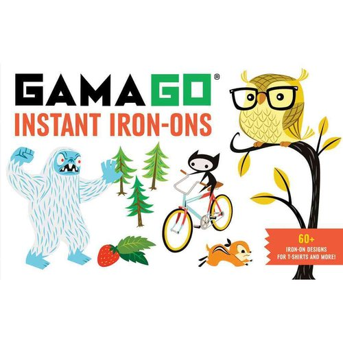 Gamago Instant Iron-Ons