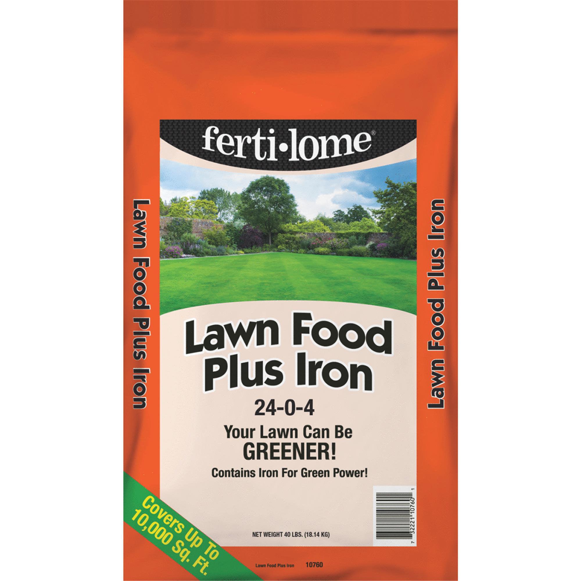 Ferti-lome Lawn Fertilizer Plus Iron