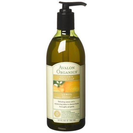 Avalon Organics Glycerin Hand Soap Lemon  12 0 Fl Oz