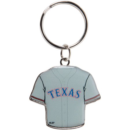 Texas Rangers Reversible Home/Away Jersey Keychain - No Size