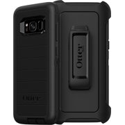 OtterBox Defender Series Rugged Case & Holster for Samsung Galaxy S8, Black