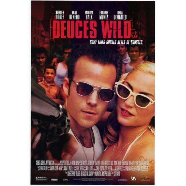 Posterazzi MOVCF5402 Deuces Wild Movie Poster - 27 x 40 in. - image 1 de 1