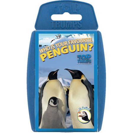 Top Trumps Penguins Card Game