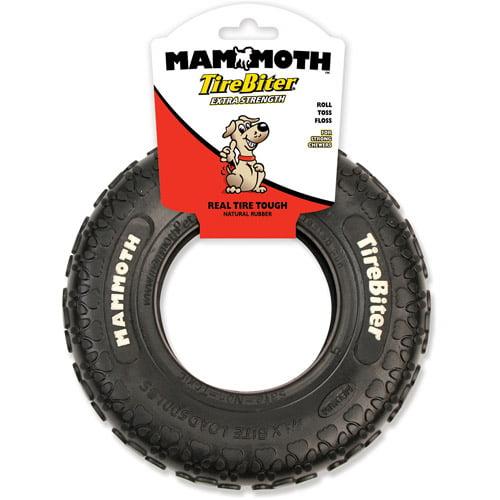 "Mammoth TireBiter Dog Toy, 8"""