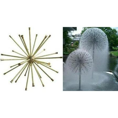 SEG QZ 1601 Fountain Tek Crystal Ball Copper 1-1/2-inch FPT