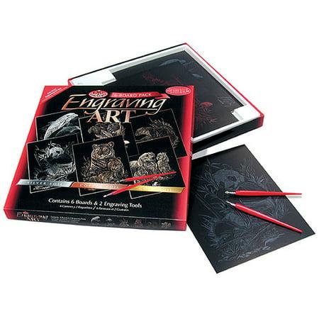 Art Tin - Foil Engraving Art Kit Value Pack, 8