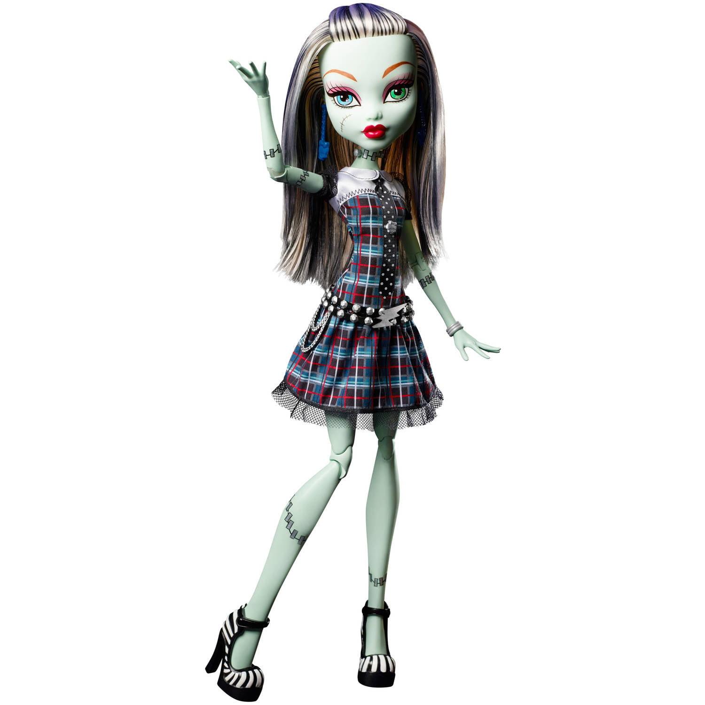 "Monster High 17"" Frankie Doll by Mattel"