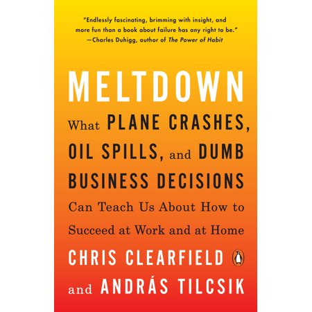 Meltdown : What Plane Crashes, Oil Spills, and Dumb Business Decisions Can Teach Us About How to Succeed at Work and at Home