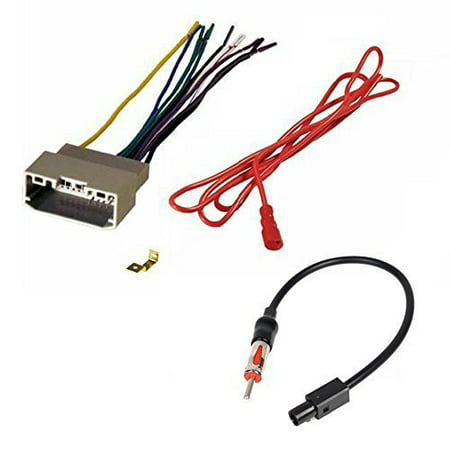 Awe Inspiring Aftermarket Car Stereo Radio Receiver Wiring Harness And Radio Wiring Cloud Rectuggs Outletorg
